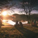 sea-dawn-sunset-people