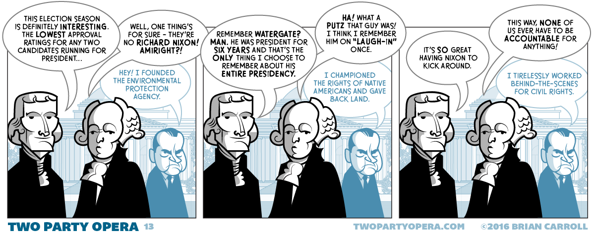 Nixon Bashing