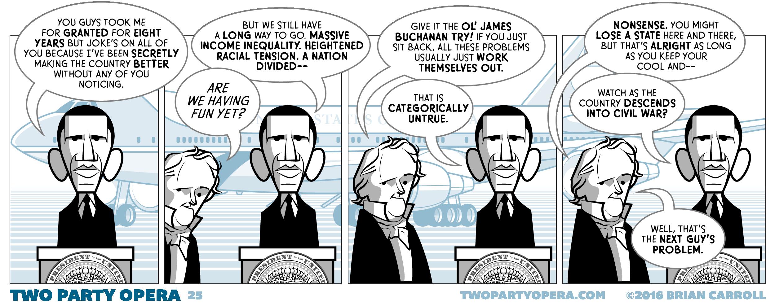 The Ol' James Buchanan Try