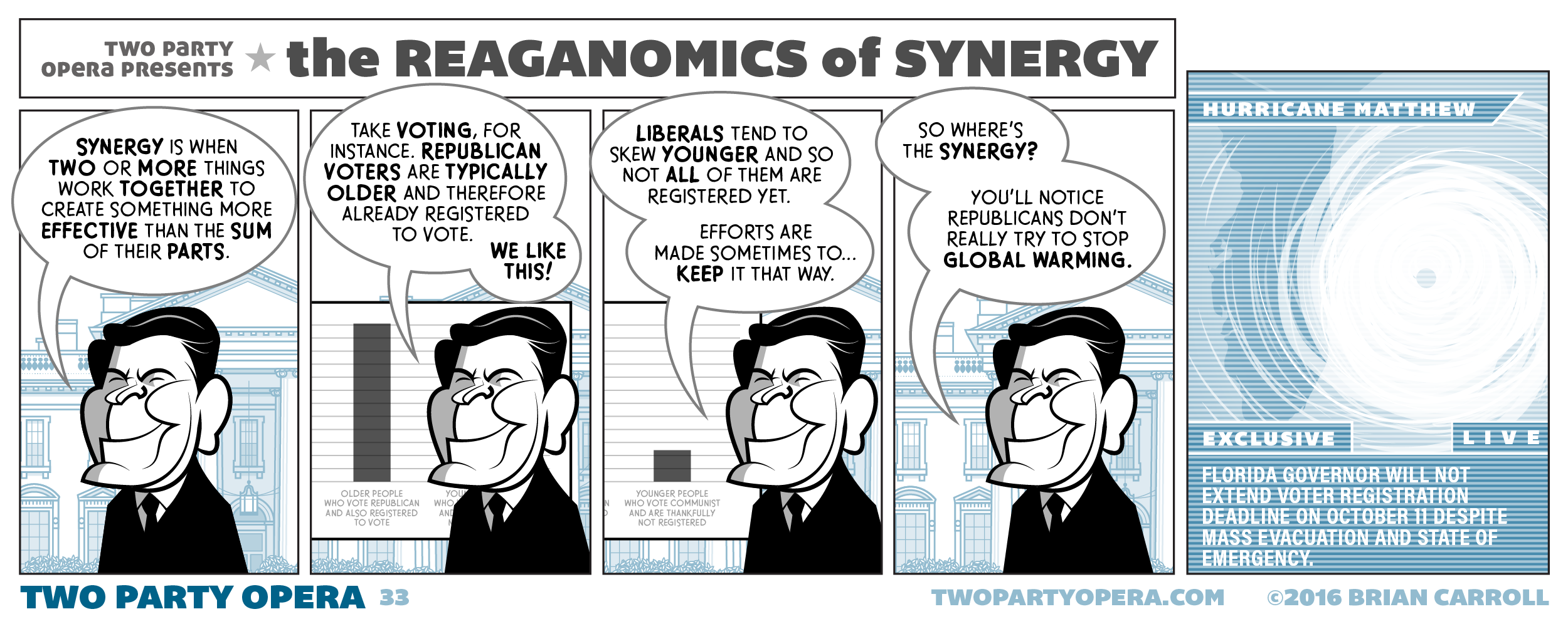 The Reaganomics of Synergy