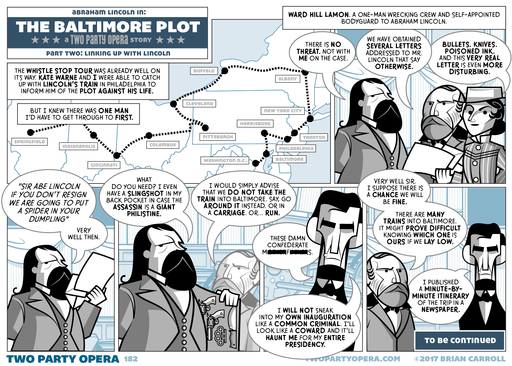 The Baltimore Plot – Part Two: Linking Up With Lincoln