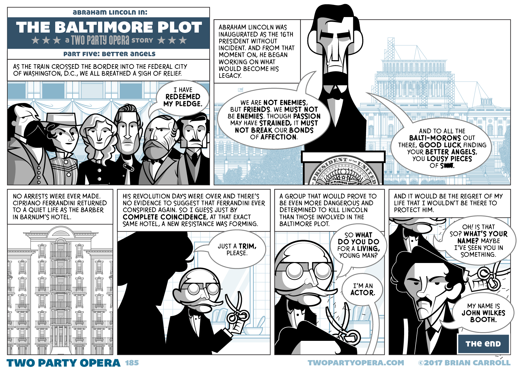 The Baltimore Plot – Part Five: Better Angels