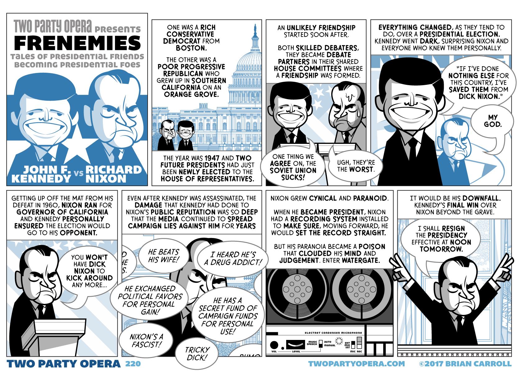 Frenemies – John F Kennedy VS Richard Nixon