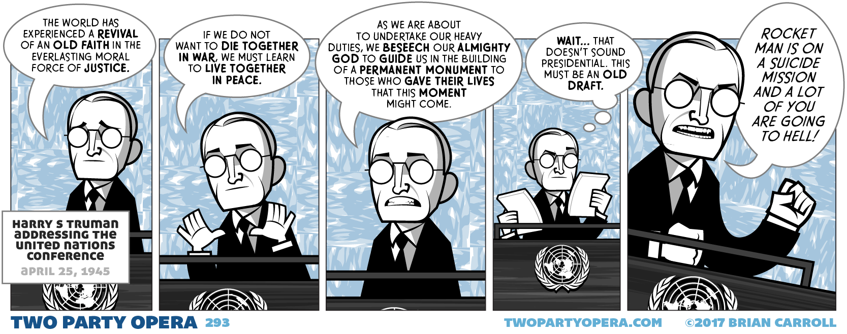 Truman at the United Nations 1945