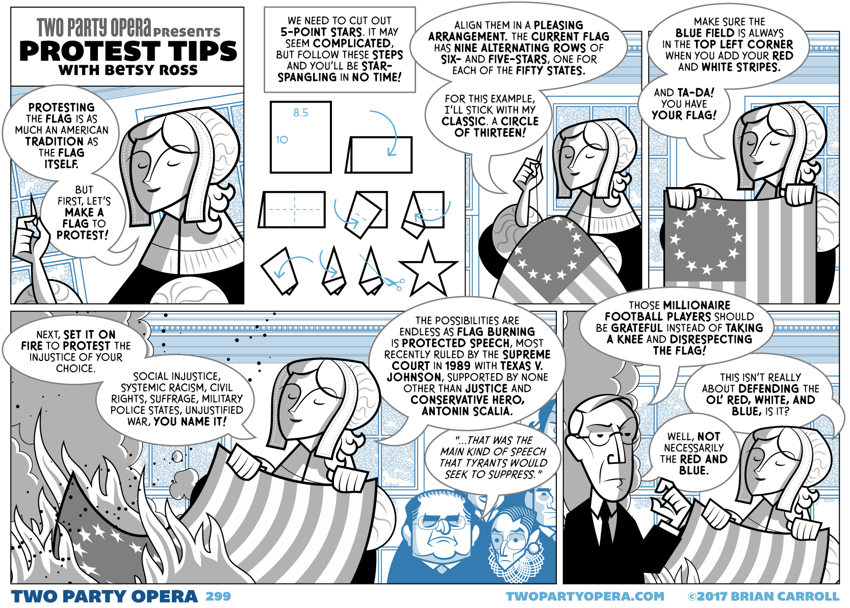 Protest Tips With Betsy Ross