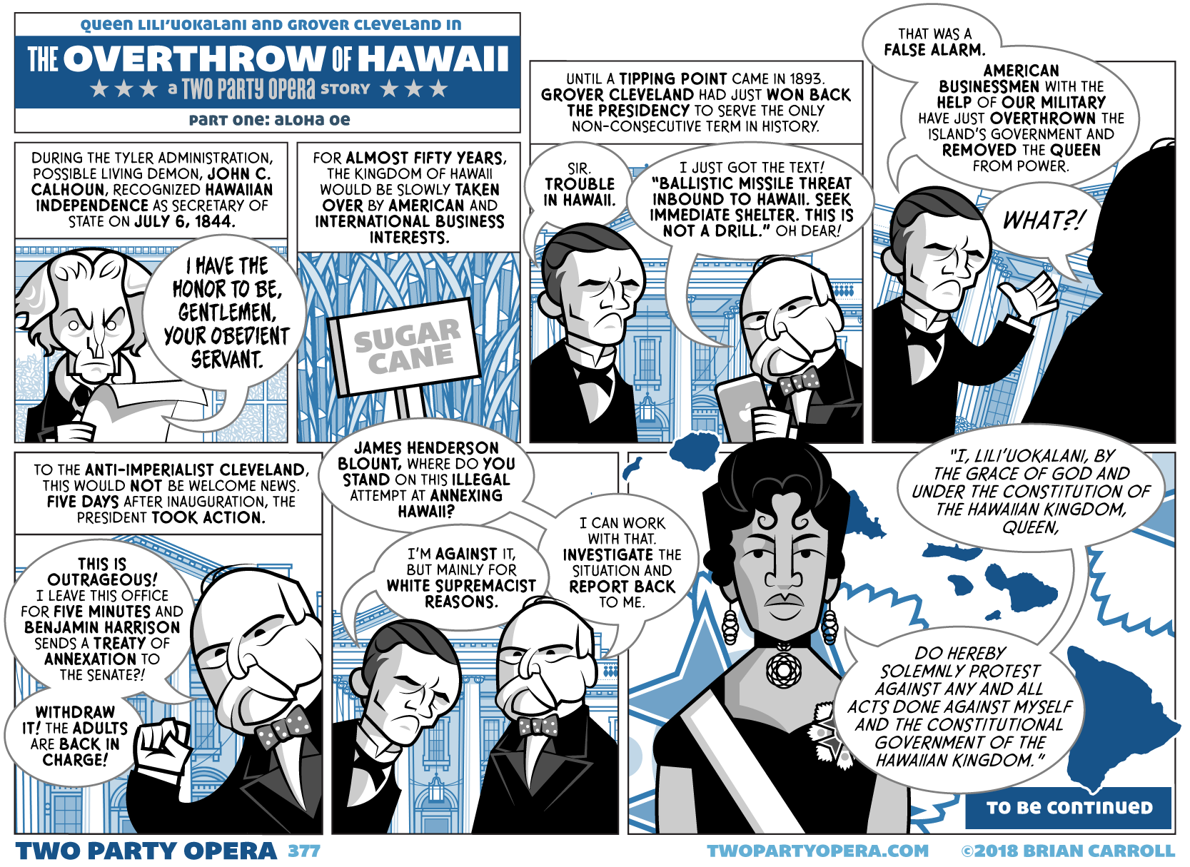 The Overthrow of Hawaii – Part One: Aloha Oe
