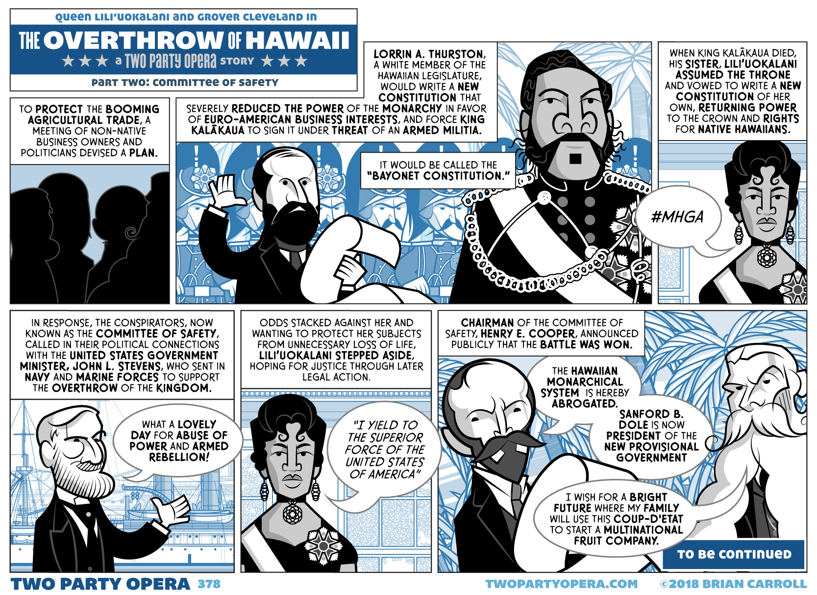 The Overthrow of Hawaii – Part Two: Committee of Safety