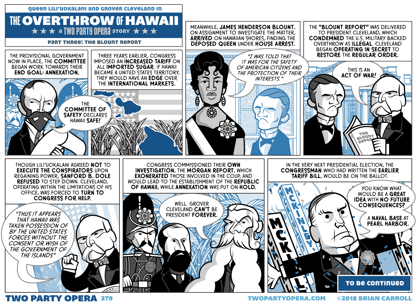 The Overthrow of Hawaii – Part Three: The Blount Report