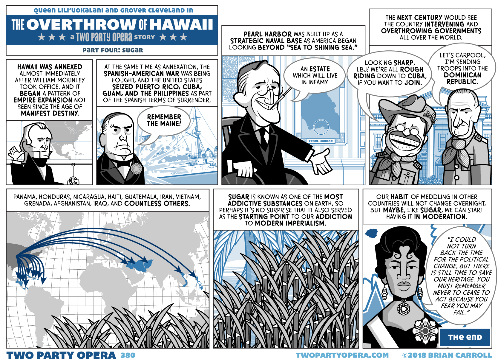 The Overthrow of Hawaii – Part Four: Sugar