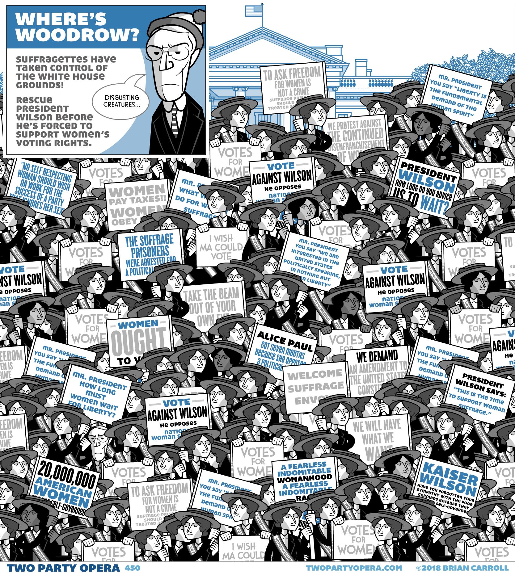 Where's Woodrow?