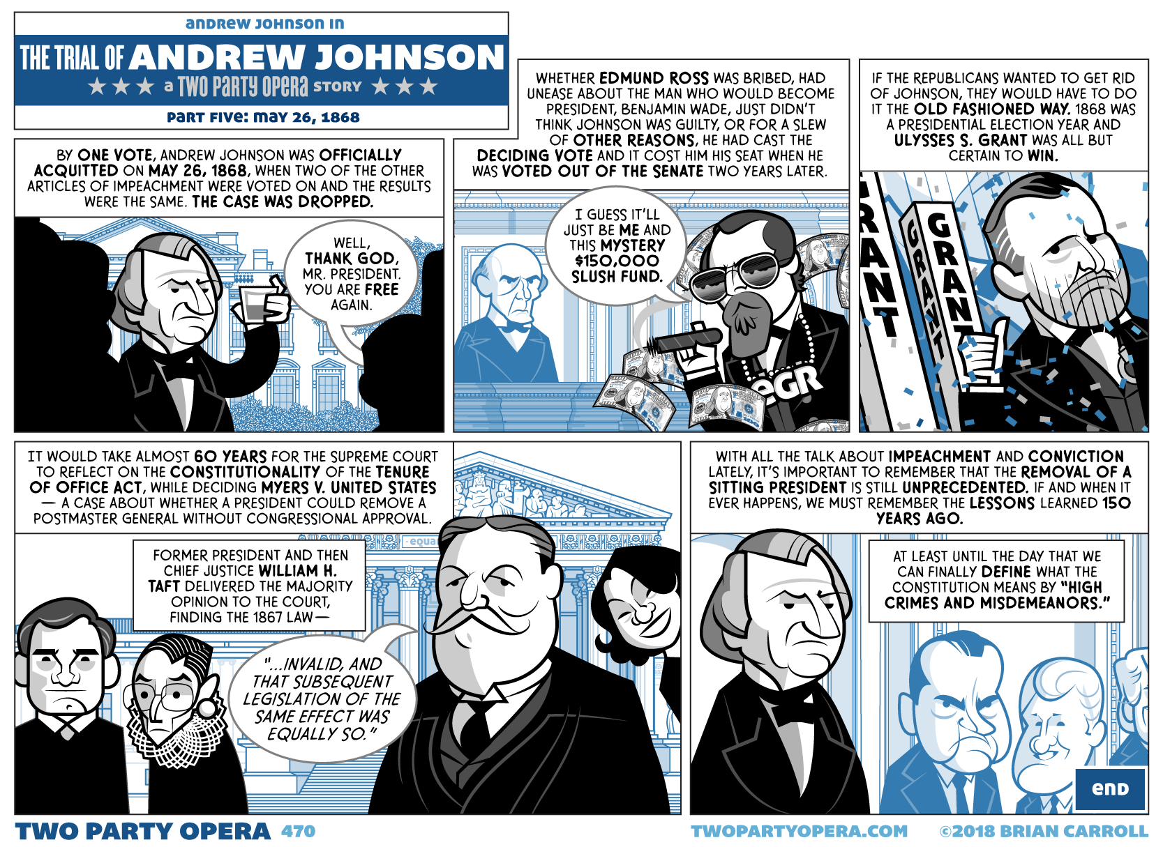 The Trial of Andrew Johnson – Part Five: May 26, 1868