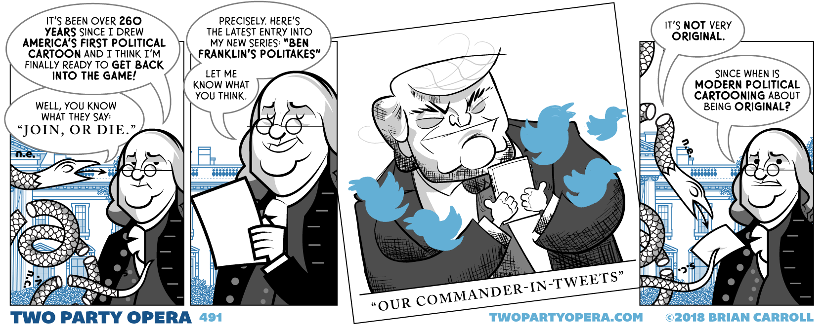 Ben Franklin's Politakes