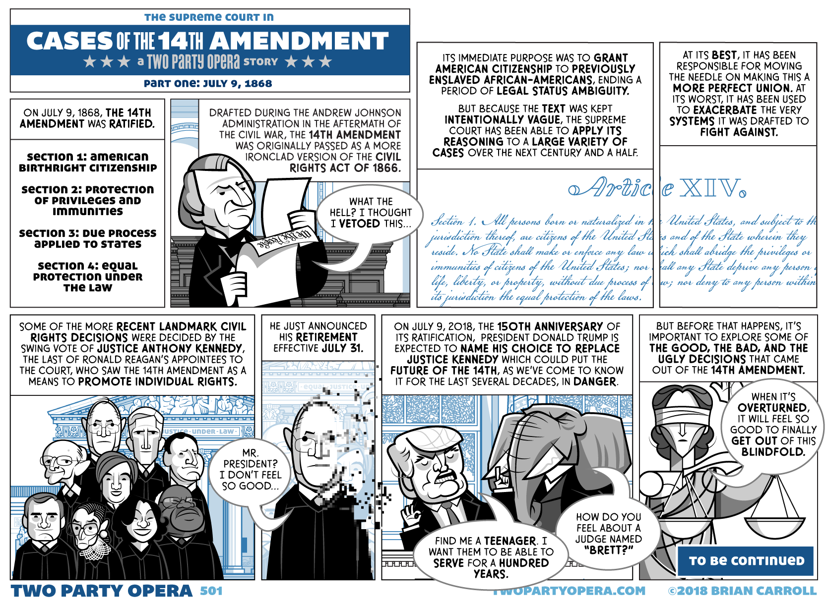 Cases of the 14th Amendment – Part One: July 9, 1868