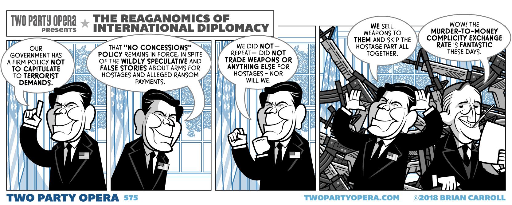 The Reaganomics of International Diplomacy