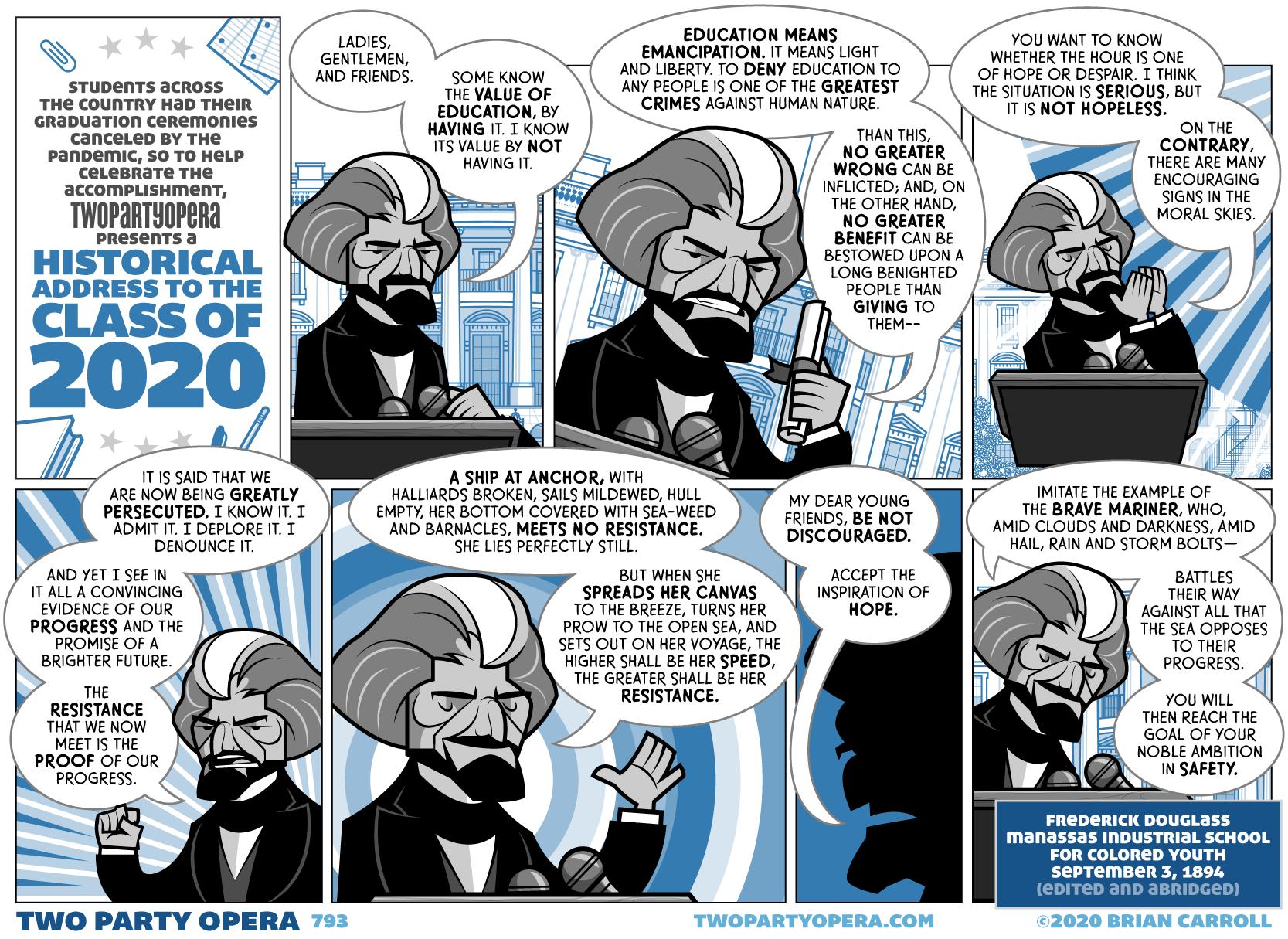 Douglass Addresses the Class of 2020